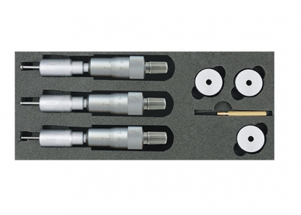 Two and Three Point Internal Micrometers Sets