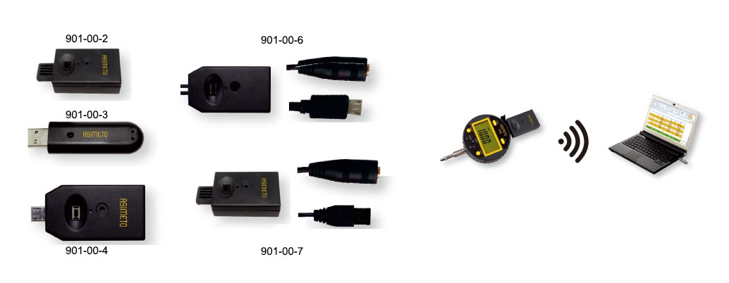 Wireless Data Output Devices