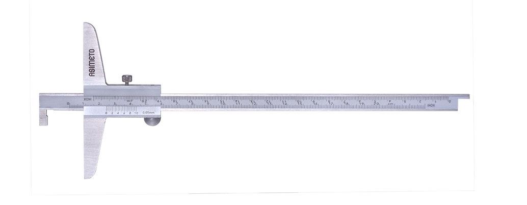 Vernier Depth Calipers With Single Hook