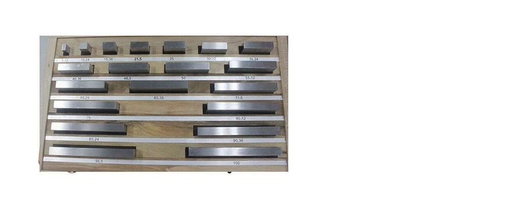 Rectangular Gauge Block Sets (Tungsten Steel)