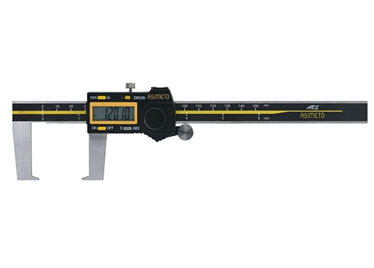 ABS Digital Calipers for Outside Grooves