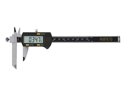 Digital Calipers With Adjustable Measuring Jaw