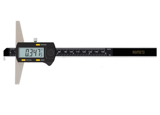 Digital Depth Calipers With Single Hook
