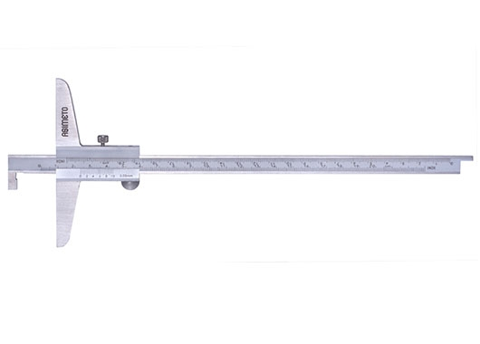 Vernier Depth Calipers With Single Hook