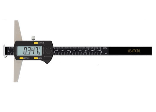 Digital Depth Calipers With Double Hook